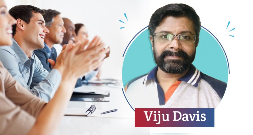 Appreciating our Covid-19 Hero - Viju Davis