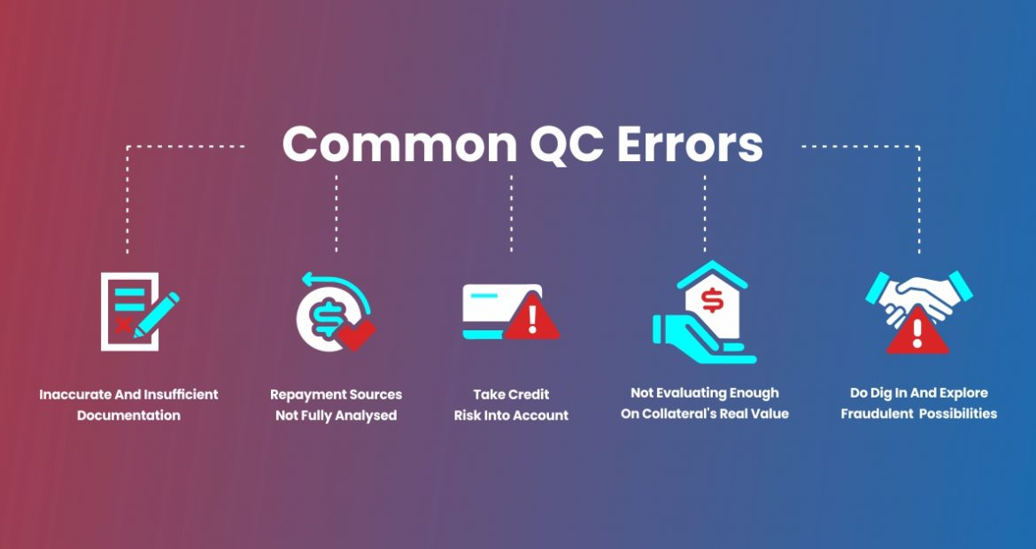 The Most Common QC Mistakes While Lenders Originate Loans